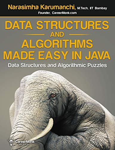 9781468101270: Data Structures and Algorithms Made Easy in Java: Data Structure and Algorithmic Puzzles, Second Edition