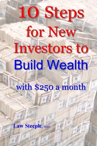10 Steps for New Investors to Build Wealth with $250 a month: Law Steeple MBA