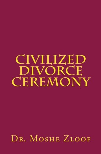 9781468123135: Civilized Divorce Ceremony