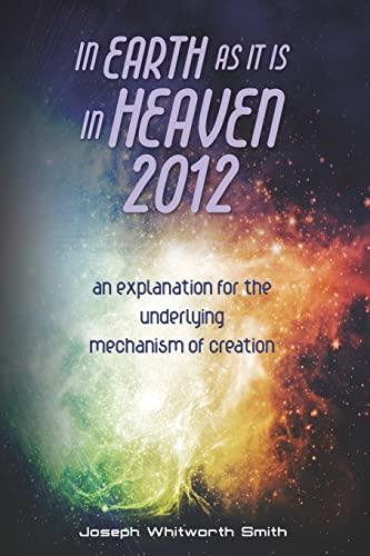 In Earth as It Is in Heaven: MR Joseph Whitworth