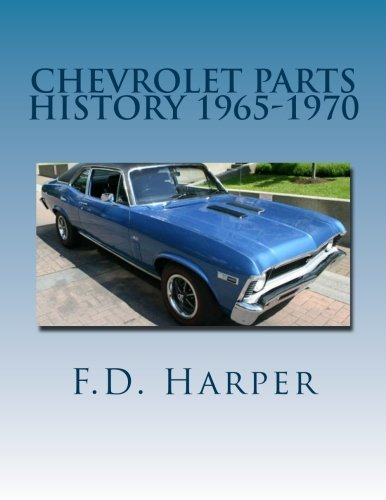9781468143126: Chevrolet Parts History 1965-1970