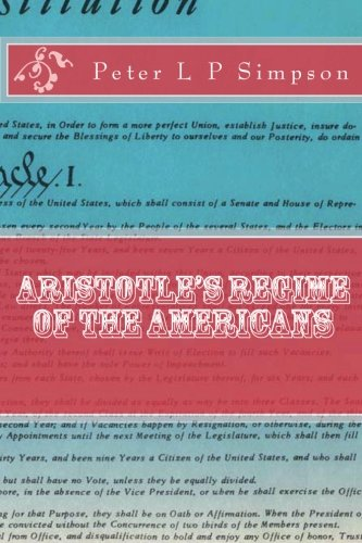 9781468151091: Aristotle's Regime of the Americans