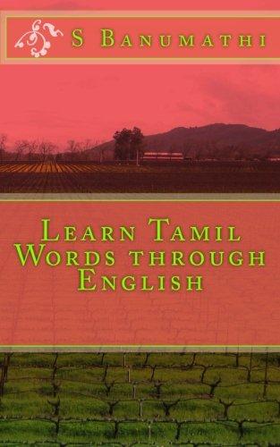 9781468155525: Learn Tamil Words through English