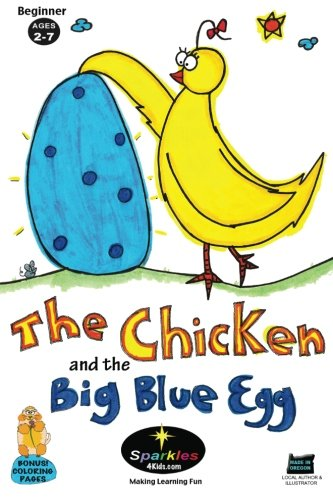 9781468162783: The Chicken & the Big Blue Egg: