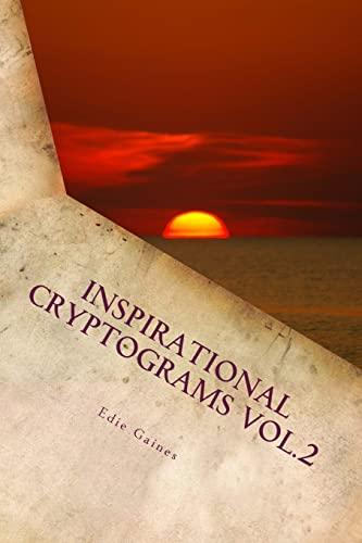 9781468190878: Inspirational Cryptograms Vol. 2 (large print) (Volume 2)
