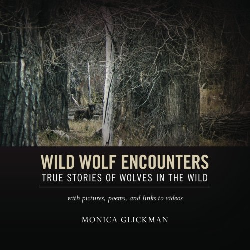 9781468198034: Wild Wolf Encounters: True Stories of Wolves in the Wild with pictures, poems, and links to videos