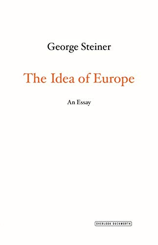 9781468310245: The Idea of Europe: An Essay