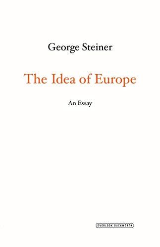 9781468310245: The Idea Of Europe. An Essay