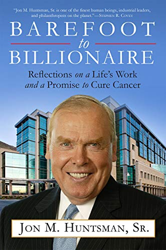9781468311679: Barefoot to Billionaire: Reflections on a Life's Work and a Promise to Cure Cancer