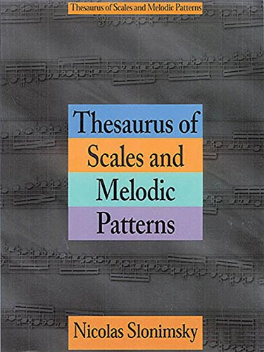 9781468314755: Thesaurus of Scales and Melodic Patterns