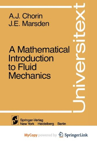 9781468400830: A Mathematical Introduction to Fluid Mechanics