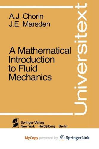9781468400830: A Mathematical Introduction to Fluid Mechanics