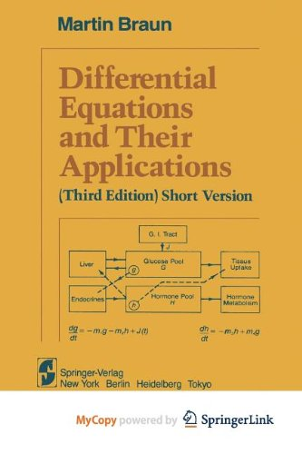 9781468401745: Differential Equations and Their Applications