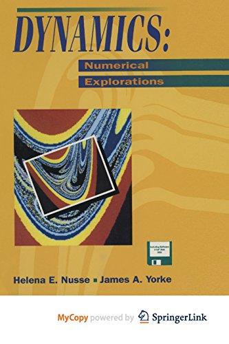 9781468402322: Dynamics: Numerical Explorations : Accompanying Computer Program Dynamics