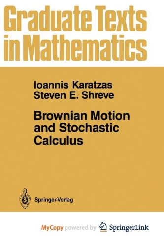 9781468403039: Brownian Motion and Stochastic Calculus