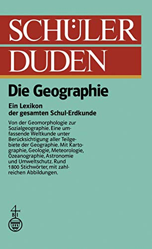 9781468405897: Schulerduden: Die Geographie (Duden für den Schüler)