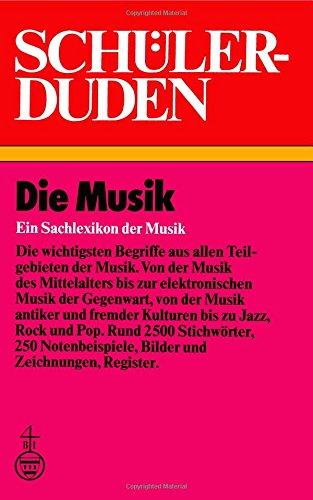 9781468405958: Schülerduden: Die Musik (Duden für den Schüler)