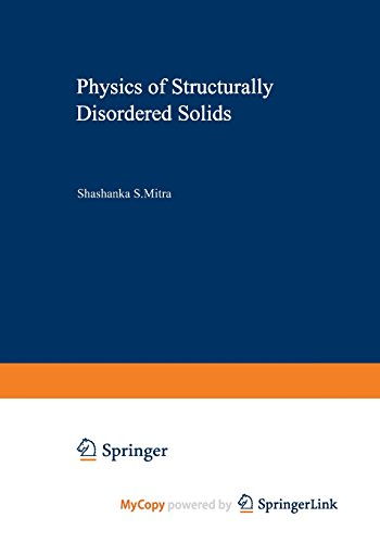 9781468408515: Physics of Structurally Disordered Solids