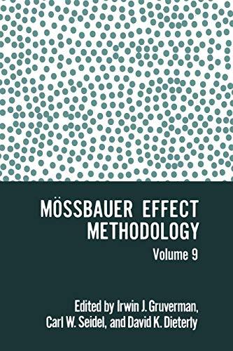 9781468409390: Mössbauer Effect Methodology