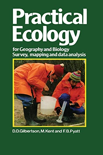 9781468414172: Practical Ecology for Geography and Biology: Survey, mapping and data analysis