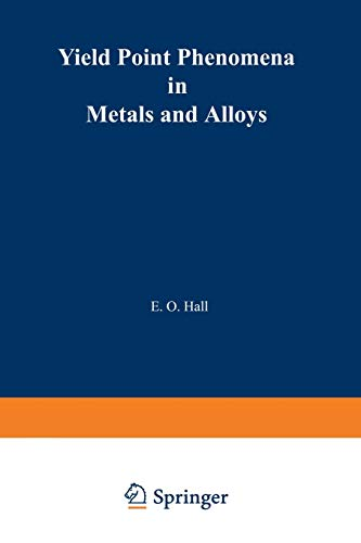 9781468418620: Yield Point Phenomena in Metals and Alloys