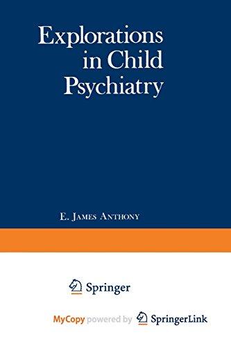 9781468421286: Explorations in Child Psychiatry