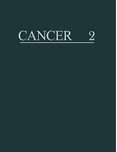 Cancer a Comprehensive Treatise 2: Etiology: Viral Carcinogenesis