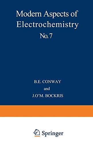 9781468430059: Modern Aspects of Electrochemistry No. 7