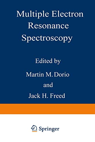 Multiple Electron Resonance Spectroscopy