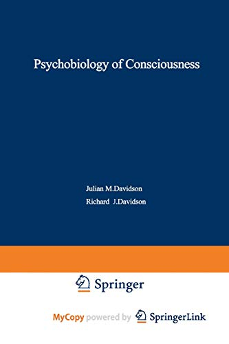 9781468434576: The Psychobiology of Consciousness