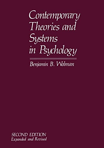 9781468438024: Contemporary Theories and Systems in Psychology