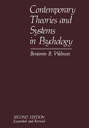 9781468438239: Contemporary Theories and Systems in Psychology