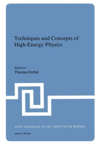 9781468439403: Techniques and Concepts of High-Energy Physics (Nato Science Series B:)