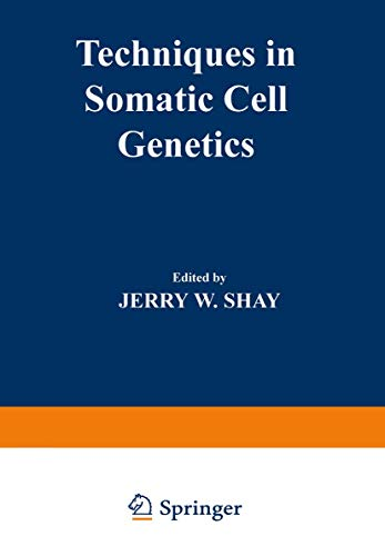 9781468442731: Techniques in Somatic Cell Genetics