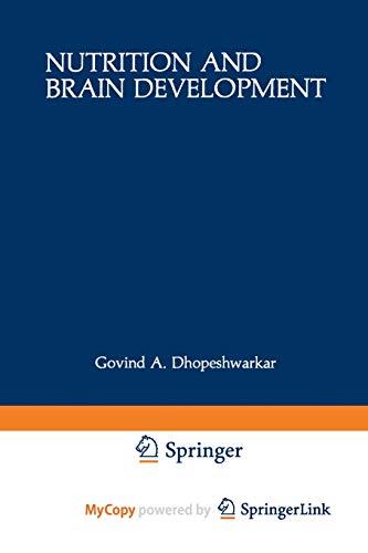 9781468442816: Nutrition and Brain Development