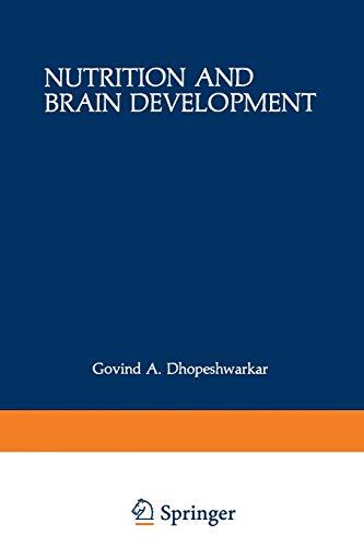 9781468442823: Nutrition and Brain Development