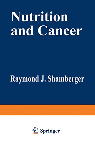9781468446722: Nutrition and Cancer