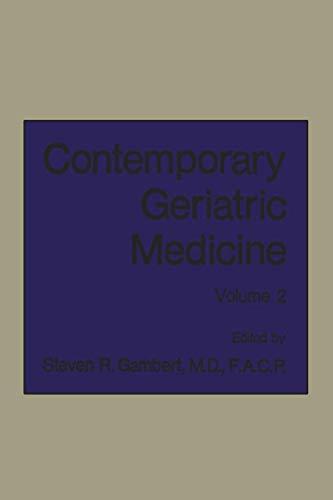 9781468450026: Contemporary Geriatric Medicine: Volume 2