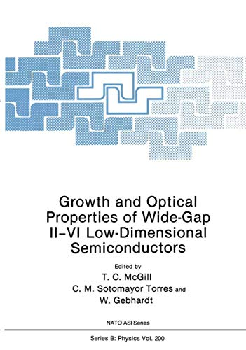 Growth and Optical Properties of Wide-Gap II VI Low-Dimensional Semiconductors