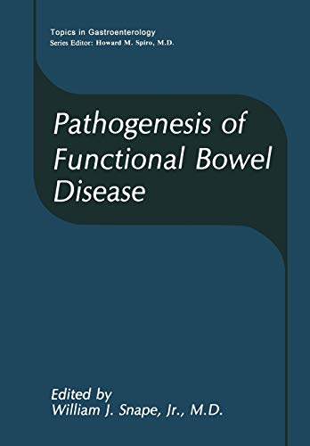 9781468456967: Pathogenesis of Functional Bowel Disease (Topics in Gastroenterology)