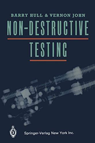 Non-Destructive Testing: HULL, B.