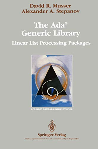 9781468470918: The Ada® Generic Library: Linear List Processing Packages (Springer Compass International)