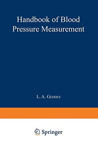 9781468471724: Handbook of Blood Pressure Measurement