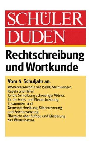 9781468473971: Schüler-duden: Rechtschreibung Und Wortkunde