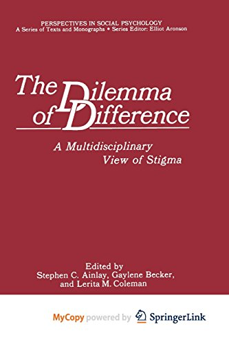 9781468475692: The Dilemma of Difference: A Multidisciplinary View of Stigma