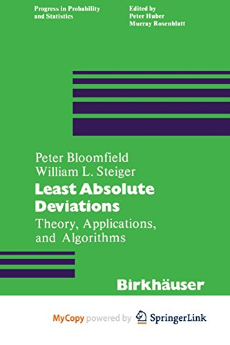 9781468485752: Least Absolute Deviations: Theory, Applications and Algorithms