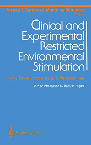 9781468485851: Clinical and Experimental Restricted Environmental Stimulation: New Developments and Perspectives