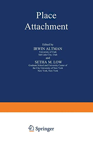 9781468487558: Place Attachment (Human Behavior and Environment)