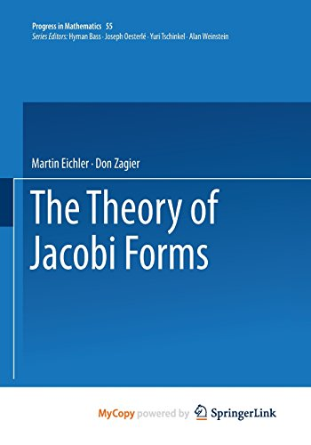 9781468491630: The Theory of Jacobi Forms