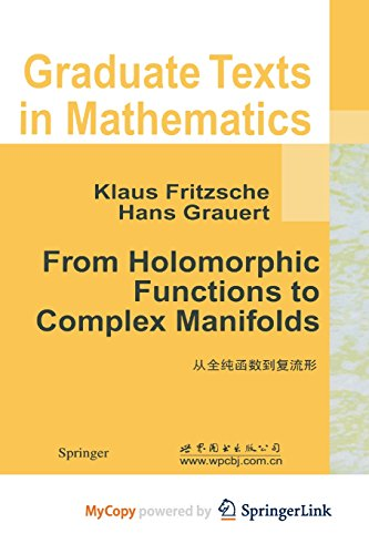 9781468492743: From Holomorphic Functions to Complex Manifolds